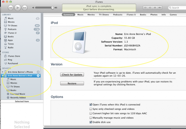 Manage Your iDevice In iTunes-Image 3 of 7