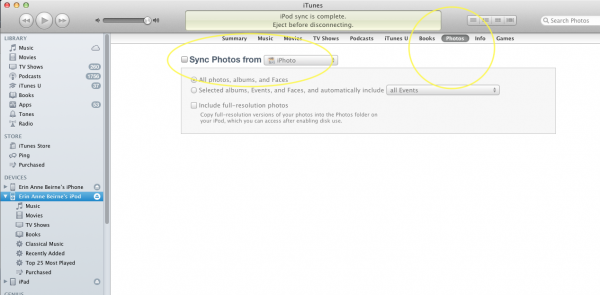 Manage Your iDevice in iTunes-Image 4 of 7
