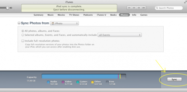 Manage Your iDevice in iTunes-Image 5 of 7