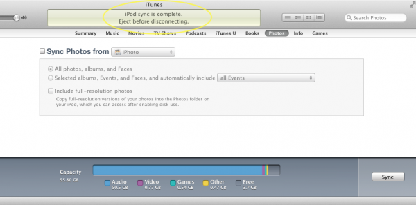 Manage Your iDevice in iTunes-Image 6 of 7